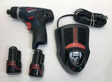 """Bosch PS 20 1/4"""" Driver Batteries Charger"""