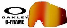 Goggle Shop Chrome Mirror Inferno Replacement lens Oakley O Frame 2000 Motocross