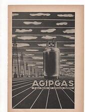Pubblicità vintage AGIP GAS ITALIANO old advertising reklame werbung publicitèB8
