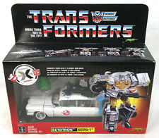 Transformers x Ghostbusters 2019 Heroic Autobot Ecto-1 Ectotron Exclusive Figure