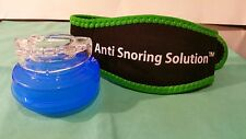 TMJ 1 Mouth Guard Night Teeth Grinding Bruxism Anti Snoring and 1 Snore Belt