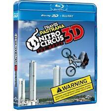 Nitro Circus The Movie 3D Travis Pastrana Blu-ray + Blu-ray NEW SEALED