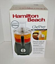 Hamilton Beach  10 Cup Food Processor  Chef Prep 525-Watt BRAND NEW