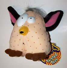 Vintage 1999 No Fur-Be Meanie Babies Plush by Twisted Toys with Tag