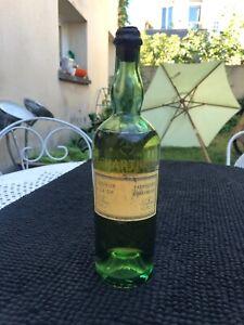 Bouteille ancienne de liqueur de la grande chartreuse GARNIER