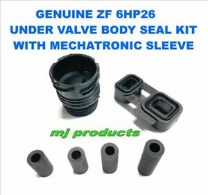BMW zf 6hp26 (Genuine) valve body seals plus adapter seal block and mechatron...