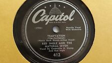 Red Nichols  -  78rpm single 10-inch -  Capitol #412 Temptation