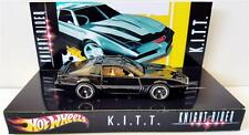 Hot Wheels KNIGHT RIDER : K.I.T.T 1982 Pontiac Trans Am Model on Custom Display