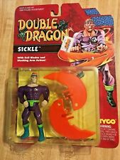 Double Dragon Sickle Action Figure Double Dragon Brand New Sealed RARE LOOK!