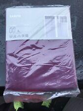"""IKEA SARITA VOLIE CURTAINS PINK FUCHSIA (2 CURTAINS)  145cm X 300/57"""" X 118"""" NEW"""