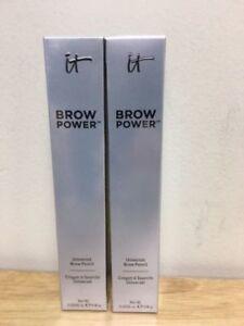 2 IT COSMETICS BROW POWER UNIVERSAL PENCIL (Brand New ~~ 0.0056 oz. each) -