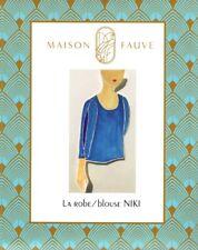 Maison Fauve Printed Pattern - Niki Dress or Blouse - Intermediate
