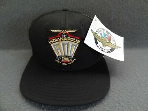 NWT Indy 500 81st 1997 M-L DeLong VTG Hat Cap IMS Indianapolis Made in USA 90s