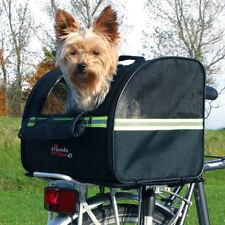 TRIXIE Fahrradtasche Biker-Bag Gepäckträger Fahrradkorb Hund Katze bis zu 8 kg