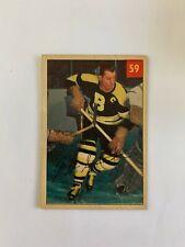 1954-55 Parkhurst Premium Backs #59 Milt Schmidt - Boston Bruins SET BREAK