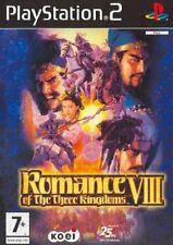 Romance VIII - Of The Three Kingdoms PS2