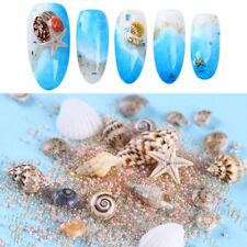 Natural Mini Sea Shells Conch Beach Ornaments 3D Nail Art Decoration Manicure