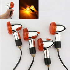 4 X Motorcycle Turn Signals Light For Honda VTX 1300 1800 TYPE C R S N F T RETRO