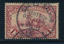 Gestempelte Briefmarken aus Deutsch-Ostafrika als Einzelmarke