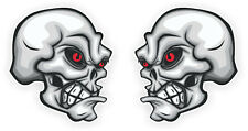 Sticker Decal Set Ace Skull Car Motorcycle Hot Rat Rod Vintage Retro Laptop 006