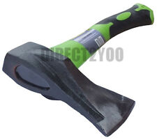 Toolzone HATCHET Hand Axe Non Jam ANTI JAM Wedge 1Kg 4Way Head Fibreglass Handle