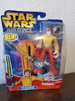 Star Wars Jedi Force LUKE SKYWALKER w/ Speeder Board figure Playskool