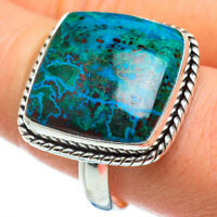 Large Chrysocolla 925 Sterling Silver Ring Size 11 Ana Co Jewelry R47080F