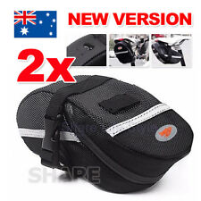 2X Cycling Bike Bicycle Bag Pouch Waterproof Saddle Rear Seat Pannier Outdoor