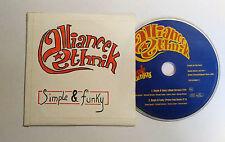 CD 2 titres  Alliance Ethnik – Simple & Funky  Rare