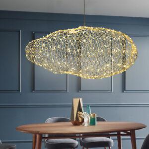 Modern Iron Led Firefly Pendant Lamp Cloud LED Ceiling Light Fixture Chandelier