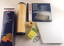 MANN/Bosch Inspektionskit Ölfilter Luftfilter Pollenfilter W211 200/220/270CDI