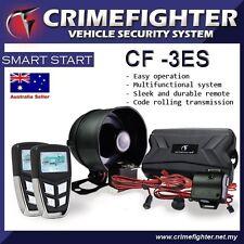 CRIMEFIGHTER CF-3 LCD Remote Keyless Entry One Way Car Alarm System Remote Start