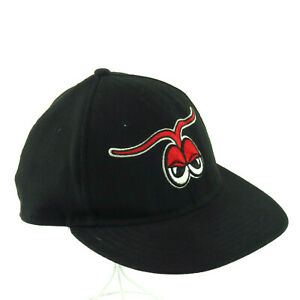 Hickory Crawdads Fitted New Era 5950 Cap Hat 7 3/8 New MiLB Texas Rangers