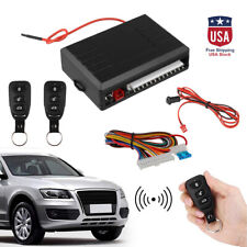 Universal Car Remote Control Central Set Door Locking Keyless Entry System US