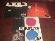 LOU DONALDSON CLASSIC RECORDS 45 SPEED 180 GRAM 4 AUDIOPHILE LP'S + 33 1/3 BONUS