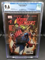 YOUNG AVENGERS #1 CGC 9.6 FIRST APPEARANCE Kate Bishop Wiccan Hulkling