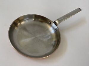 """Williams Sonoma 8"""" Copper  Fry/Saute lined Professional Series Pan"""