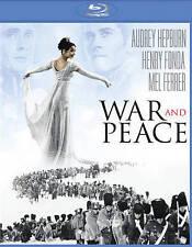 WAR AND PEACE (Blu-ray) NEW! SEALED! Audrey Hepburn Henry Fonda