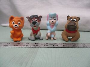 1988 Disney Oliver and Company Burger king Happy Meal Finger Puppets Pick One
