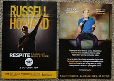 2 Flyers - Russell Howard - Respite Tour - Manchester 2nd October 2019 -
