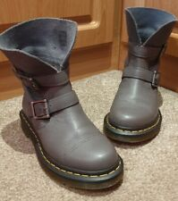 Dr Martens Size 3 - Grey Boots