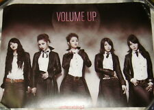 4MINUTE Volume Up Taiwan Promo Mini Double-Sided Poster (A4 size)