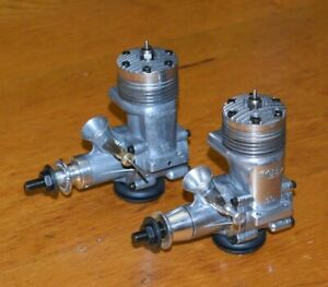 1965 & 1975 K&B Torpedo 35 control line model airplane engines .35 vintage lot