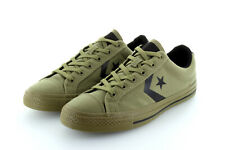Converse cons Star Player Ox olive green Black yute textile talla 42,5/43,5 us 9