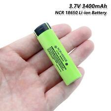 3.7V 3400mAh NCR 18650B Battery Max 20A High Drain For Vape Torch Flashlight
