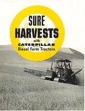 Caterpillar Harvesting Diesel Tractors Book D2 D4 D6