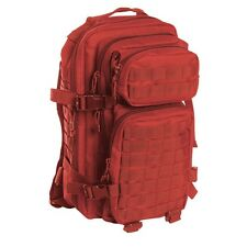 Mil-tec US Assault - mochila (36 L) color rojo