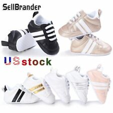 Baby Walking Trainers Girl's Boy's Toddler Casual Sports Kids Sneakers Shoes US