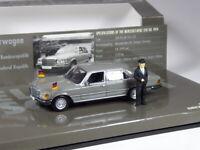 (KI-10-19) Minichamps Mercedes 350 SEL Kanzler Helmut Schmidt in 1:43 in OVP