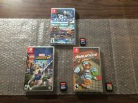Overcooked: Special Edition + Go Vacation + Lego Marvel 2 (Nintendo Switch) LOT